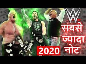 UPDATED 2020 - Top 10 Highest Paid WWE Superstars, Wrestlers, WWE Superstars Salary Income per match