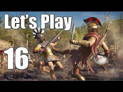 Assassin's Creed Odyssey - Let's Play Part 16: The Serpents Lair