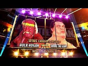 WrestleMania Rewind - Hulk Hogan vs. Andre The Giant - This Tuesday 9/8c on WWE Network