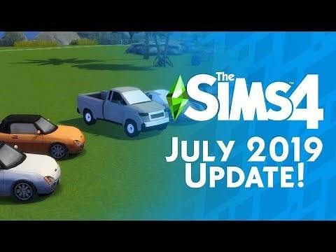 The Sims 4 July 2019 Update: New Look, CAS Stories, 1000+ New Items and MORE!