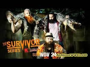 WWE Survivor Series 2013 Official Theme Song