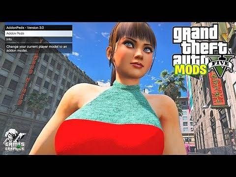 HOW TO INSTALL ADDONPEDS LATEST VERSION!!! GTA 5 MODS