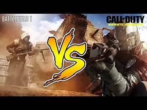 Battlefield 1 Vs Call Of Duty: Infinite Warfare - Trailer Reazione iTA