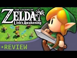 THE LEGEND OF ZELDA: LINK'S AWAKENING REVIEW - The Gist of Games