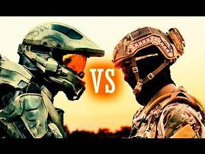 HALO and CALL OF DUTY Meet in REAL LIFE