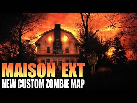 MAISON EXT (New Custom Zombie Map)(Call of Duty Zombies Mod)