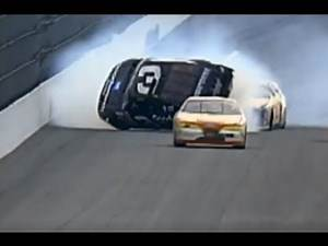 1997 Daytona 500 - Dale Earnhardt Flip - Call by MRN