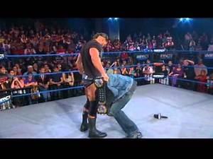 World Champion Bobby Roode attacks Sting