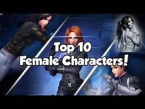 [Marvel Future Fight] Top 10 Female Characters!