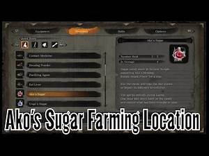 Sekiro Shadows Die Twice Ako's Sugar Farming Location - Boost Attack Power for a time