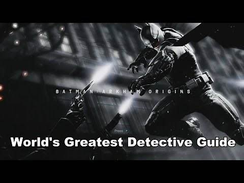 Batman: Arkham Origins - World's Greatest Detective Guide