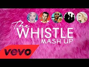 """Hilary Duff - """"The Whistle"""" Mashup ft Maroon 5 - FloRida- Foster the People - Britney Spears"""
