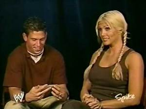 10.04.03 WWE CONFIDENTIAL - Torrie Wilson Outside The Ropes Interview