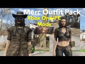 Merc Outfit Pack Fallout 4 Xbox One/PC Mods