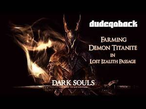 Demon Titanite Farming | Tips N Tricks - Dark Souls 1