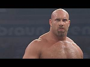 Goldberg is forced to team with Randy Orton vs. Evolution: Raw, Sept. 8, 2003