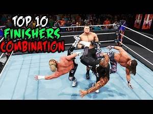 WWE 2K20 Top 10 Finisher After Finishers Combination!
