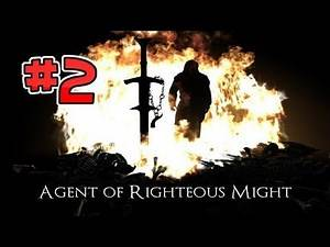 Let's Play Skyrim: Agent of Righteous Might Quest Mod (Gameplay/Walkthrough) [Part 2] - MYTHIC DAWN!