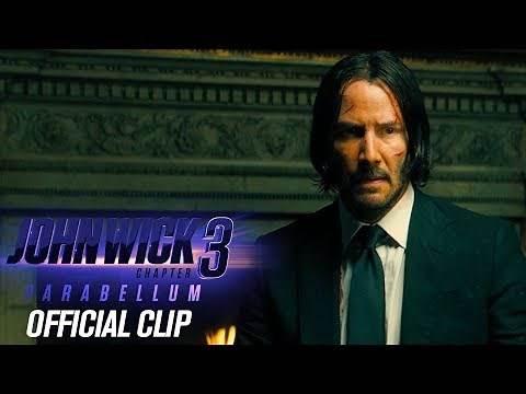 "John Wick: Chapter 3 - Parabellum (2019) Clip ""Director Conversation"" - Keanu Reeves"