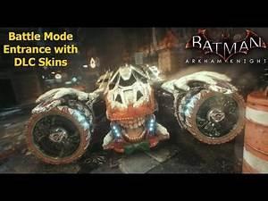 Batman Arkham Knight: Battle Mode Entrance with DLC Skins