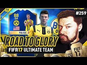 TOTS PULISIC! - #FIFA17 Road to Glory! #259 Ultimate Team