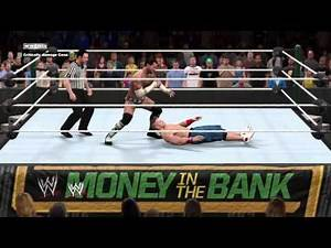 WWE 2K15 CM Punk vs. John Cena Money in the bank 2011