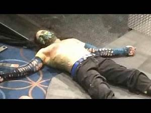 WWE JEFF HARDY PASSED OUT BREAKING news!