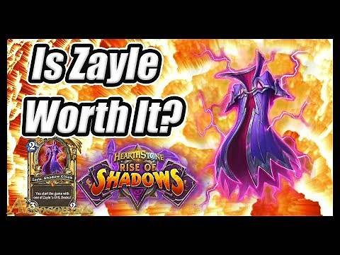 New Card Zayle Shadow Cloak Deck Guide- Should You Get It? - Rise Of Shadows Hearthstone