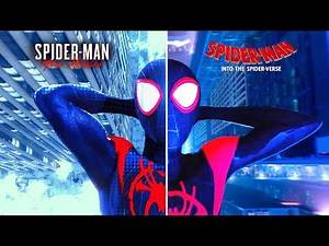 SPIDER-MAN: Miles Morales | Recreating INTO THE SPIDER-VERSE 'Ending scene'