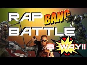 Call of Duty vs Halo vs Battlefield Rap Battle