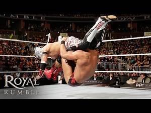 WWE Network: Kalisto vs. Alberto Del Rio - U.S. Title Match: Royal Rumble 2016