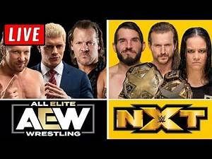 🔴 AEW Dynamite Live Stream & WWE NXT Live Stream October 9th 2019 - Full Show live reaction