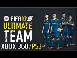 FIFA 17 ULTIMATE TEAM - GAMEPLAY (X360/PS3)