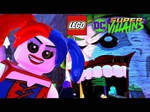 LEGO DC SUPER VILLAINS Gameplay Part 2 - GOTHAM CLOCK TOWER