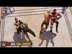 WWE 2K20 Top 10 Epic Double Finishers!!