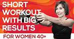 25 Minute Workout with Weights - Total Body for Women Over 40