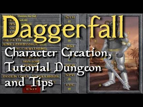 Daggerfall Unity: Character Creation and Other Tips