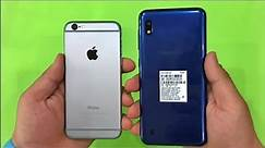 Samsung Galaxy A10 vs iPhone 6