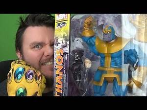 Marvel Select Thanos Action Figure Diamond Select Toys Review - INFINITY WAR SPECIAL