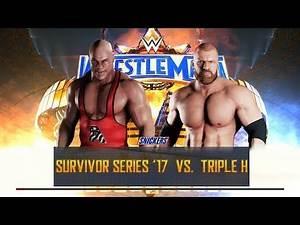 WWE 2K18 Kurt angle vs Triple h