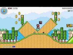 Super Mario Maker PC (Mario Editor) 2 Level Challenge