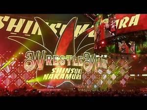 Shinsuke Nakamura Wrestlemania 34 Live Entrance From New Orleans