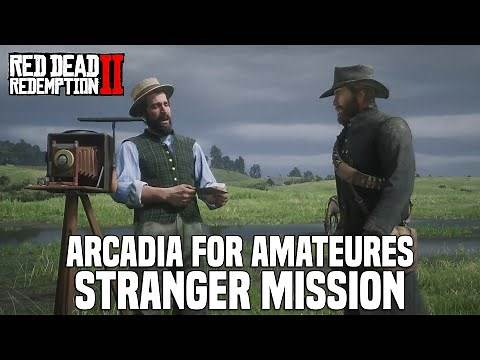 Red Dead Redemption 2 - Arcadia For Amateurs Stranger Side Mission Location & Guide