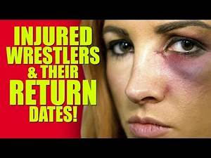 WWE Raw and all injured Wrestlers & Their Return Dates (Becky Lynch, Roman Reigns, Strowman)