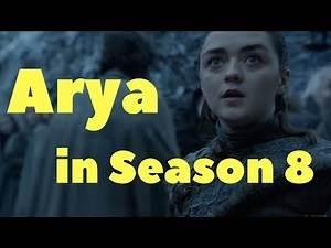 Arya in Season 8 - predictions and character study