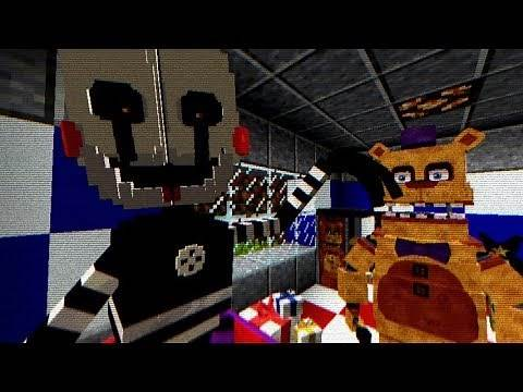 Minecraft FNAF Universe Mod Creative | Building The First Fredbear's Location! [S4 #2]