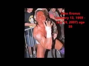 Wrestling Deaths (2005-2014) WWE and TNA Superstars!!