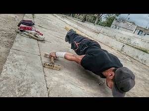 The king of planche street workout /Algeria / 2018 new