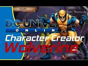 Wolverine - DCUO Character Creator