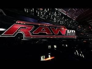 WWE Raw Intro Burn it to the ground 2009-2011 Divas Version